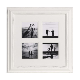 White distressed photoframe - cravenandhargreaves