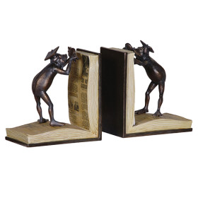 cravenandhargreaves - Pair of King Frog bookends